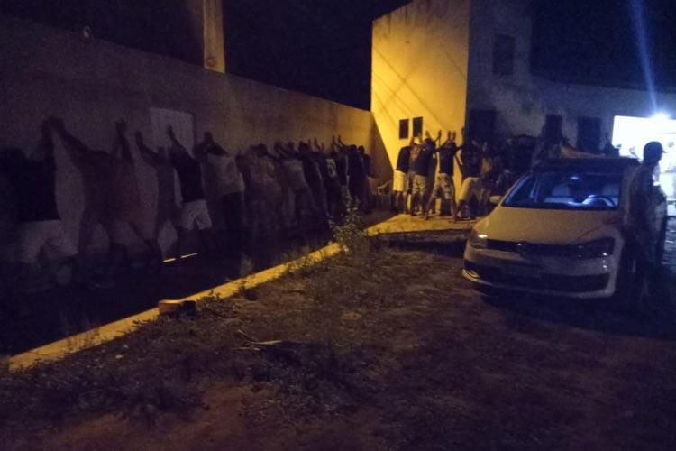 Livramento de Nossa Senhora: Polícia encerra eventos com aglomeração e som alto e prende organizadores