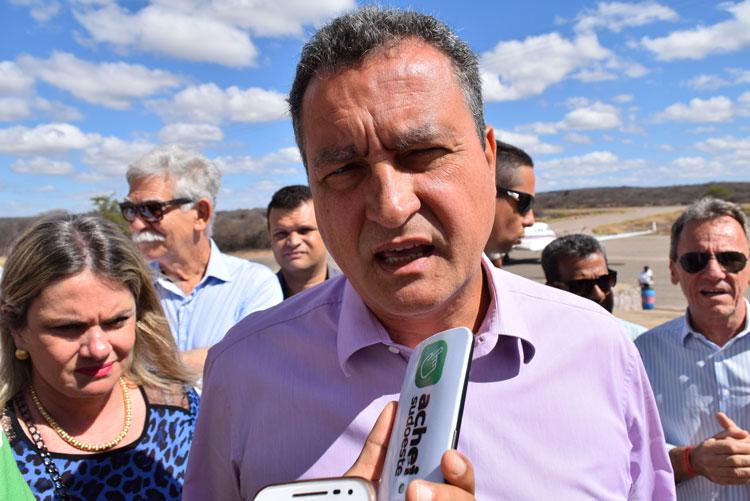 Em visita a Dom Basílio, governador pousa em Brumado e prevê inauguração da UTI para novembro