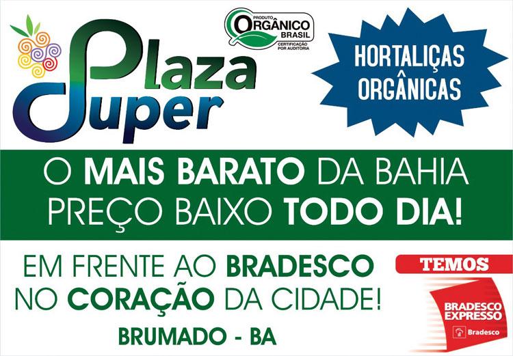 Venha conhecer o Plaza Super Hortifruti em Brumado