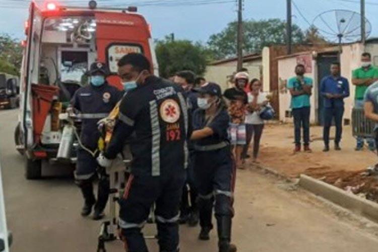 Luís Eduardo Magalhães: Homem morre após cair de cerca de 10 metros enquanto consertava telhado