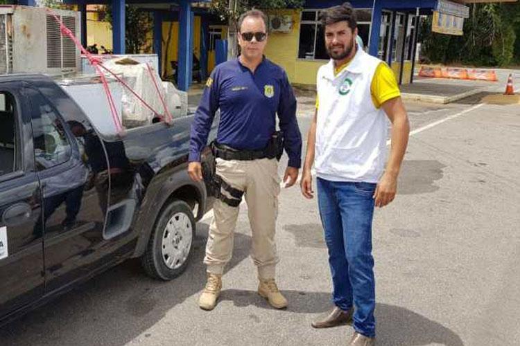 PRF em Vitória da Conquista promove a destinação adequada de resíduos eletroeletrônicos