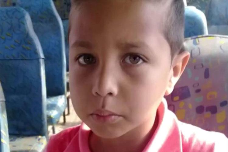 Menino de 8 anos com tumor no cérebro busca vaga em hospital especializado em Vitória da Conquista