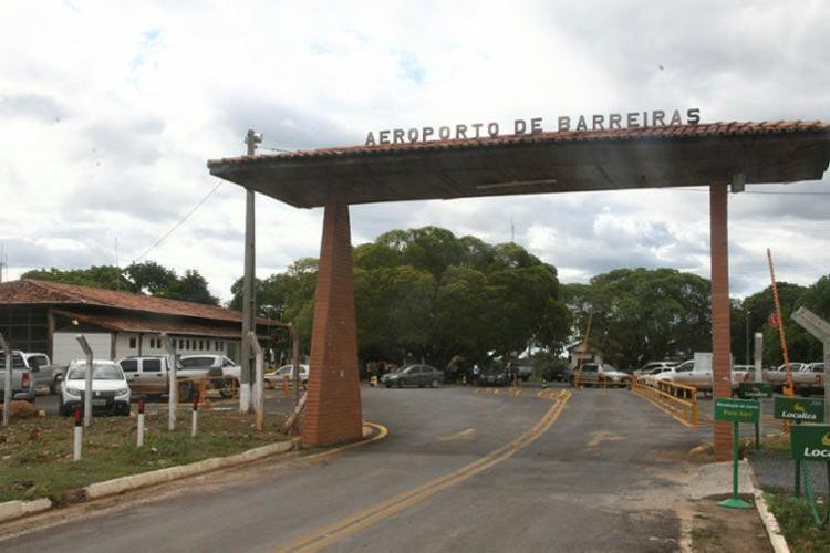Barreiras: Ministério da Infraestrutura autoriza licitação para reforma de aeroporto