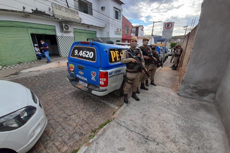 46ª CIPM emprega logística para segurança e escolta das vacinas na região de Livramento de Nossa Senhora