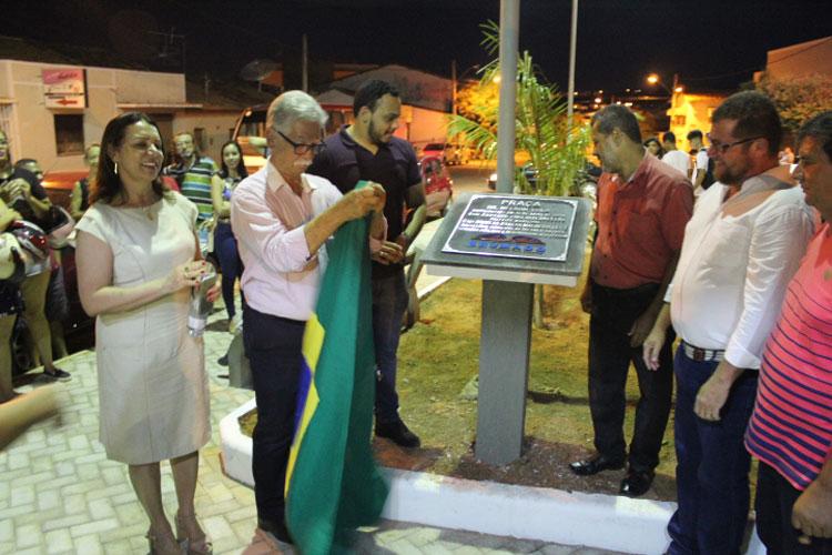 Brumado: Vice-prefeito não é lembrado em placa inaugural da Praça Dr. Nelson Lula