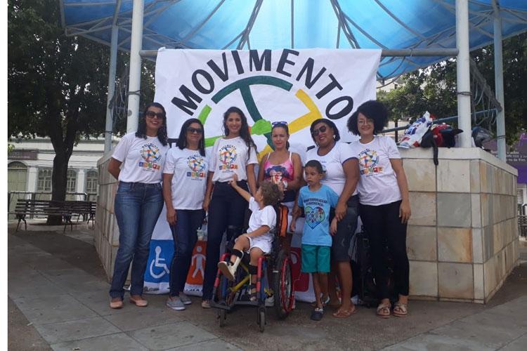 Brumadenses aderem ao movimento 'Eu empurro essa causa'