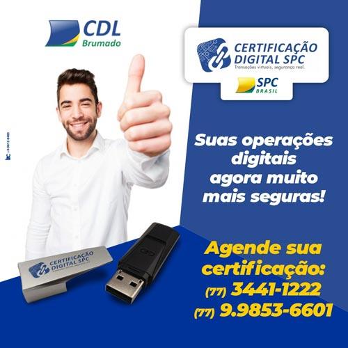 Brumado: CDL realiza certificação digital através de agendamentos