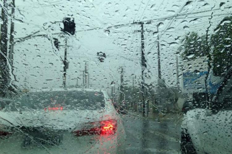 Domingo amanhece com chuva na cidade de Caculé