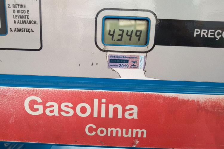 Gasolina sofre novo reajuste em Brumado e está entre as mais caras da Bahia