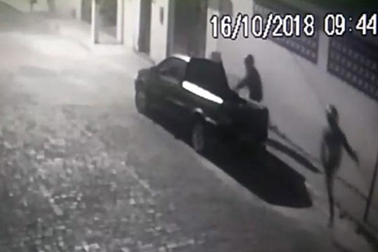 Ituaçu: Suspeitos de assaltarem farmácias são presos após serem identificados por câmeras de segurança