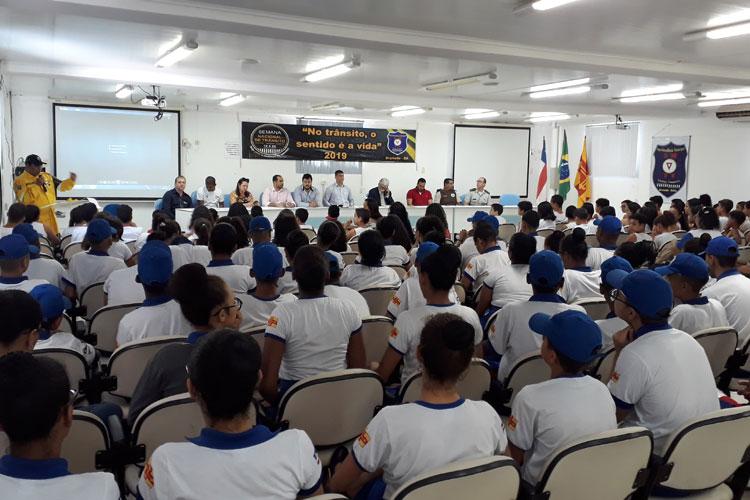 SMTT realiza abertura da Semana Nacional de Trânsito em Brumado