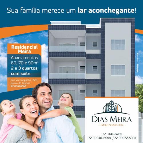 Dias Meira Empreendimentos tem as melhores opções de moradia em Brumado