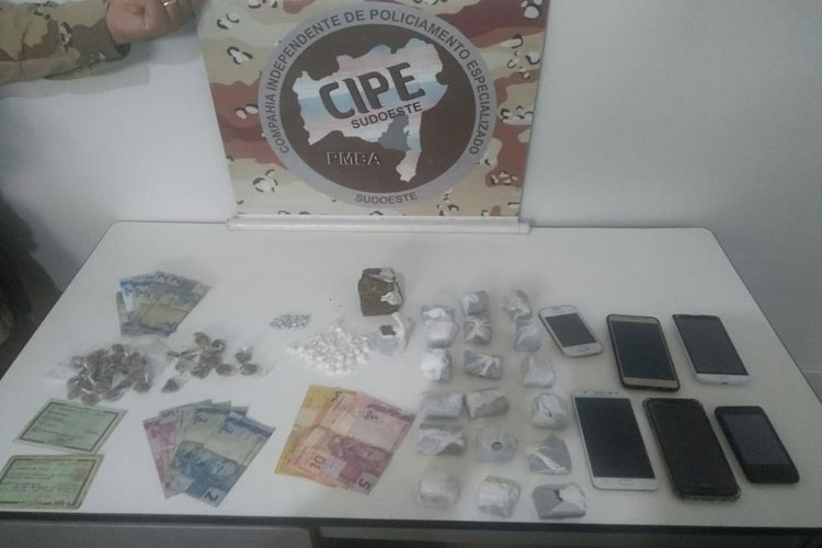 Indivíduos que atuam em organização criminosa na região são presos em Barra da Estiva