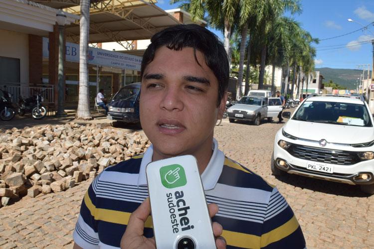 Vitor Bonfim prevê maior crescimento de Brumado com Faculdade de Medicina e oferta de saúde