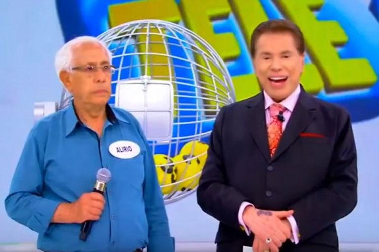 Caetiteense ganha R$ 500 mil na Tele Sena e aparece em programa ao lado de Sílvio Santos