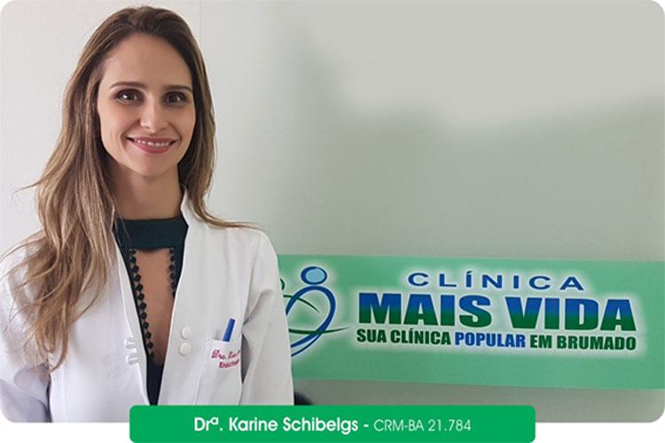 Clínica Mais Vida: Endocrinologista Karine Schibelgs esclarece dúvidas sobre o câncer na tireoide