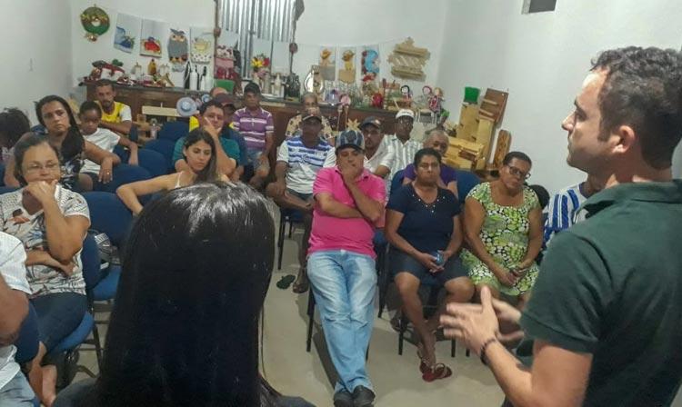 Brumado: Em visita a comunidade de Campo Seco, Fabrício Abrantes diz que vai priorizar a zona rural