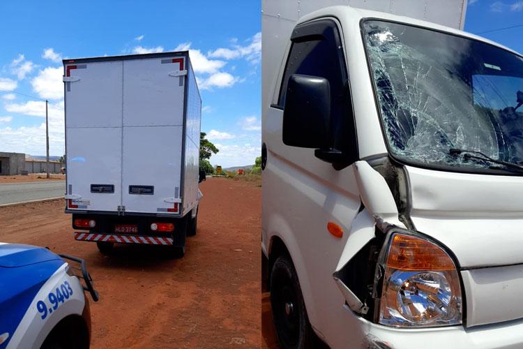 Motorista que fugiu após atropelar idoso em Guanambi é preso pela Polícia Militar em Igaporã
