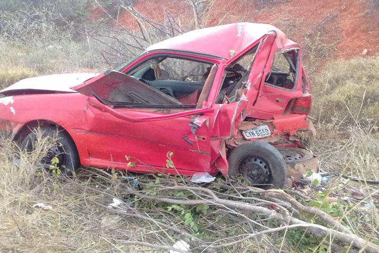 Acidentes rodoviários marcam final de semana na microrregião de Brumado