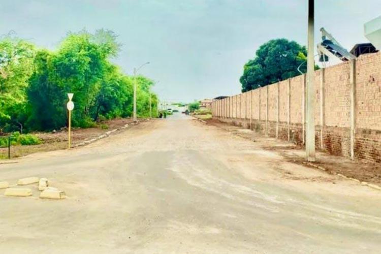 Pavimentação asfáltica da Avenida Edílson Lima da Silva será inaugurada em Brumado