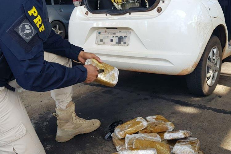 Nova Itarana: Casal é preso com 15 kg de crack em carro