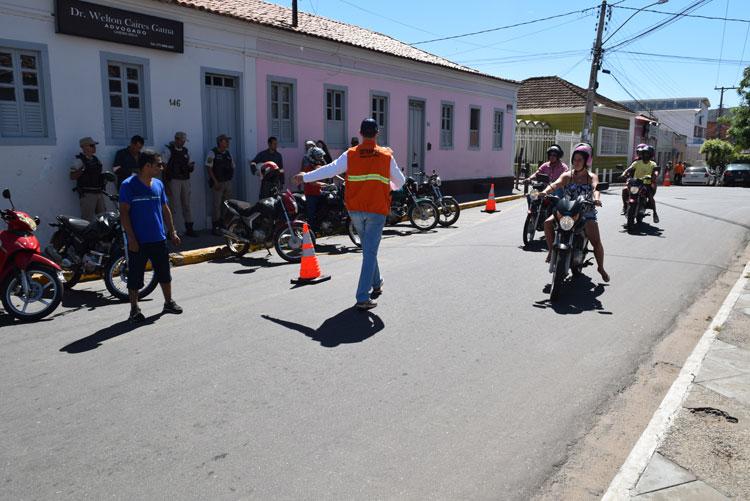 Detran apresenta relatório da Operação Paz no Trânsito em Brumado