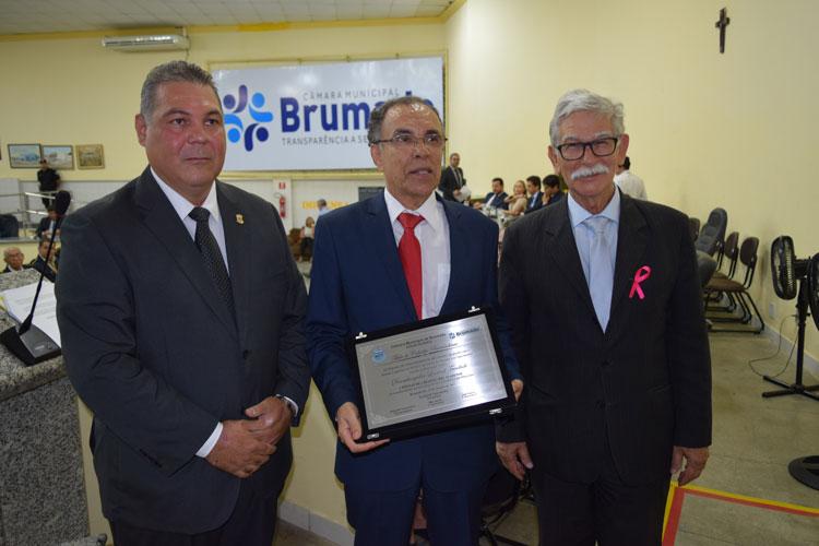 Desembargador do TJ-BA é condecorado com dupla cidadania dos municípios de Brumado e Rio de Contas