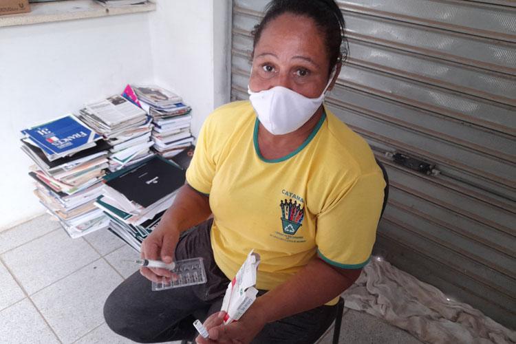 Brumado: Catadora de recicláveis se fere com agulha durante seleção e pede ajuda para tomar antiviral