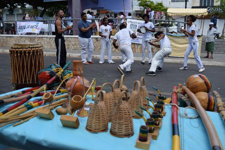Projeto Adote um Capoeirista realizará tradicional encontro de culturas africanas em Brumado