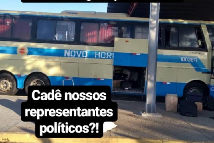Guanambi: Passageiros se recusaram a embarcar em ônibus precário rumo a Brasília