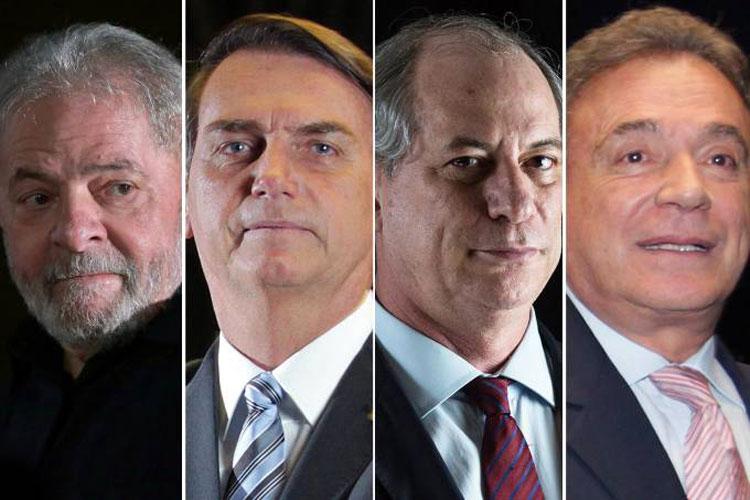 Eleições 2018: A um ano do pleito, quatro candidatos já estão na pista