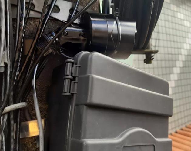 Tráfico de drogas instala câmera de segurança para monitorar polícia na Bahia