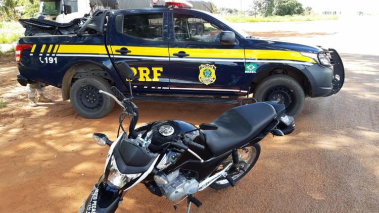 Homem é preso após comprar moto roubada em rede social no oeste da Bahia