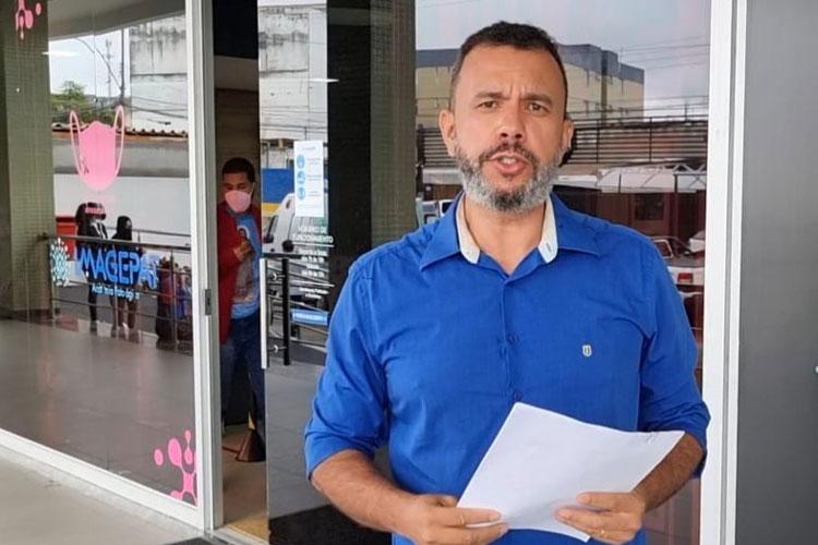 Beto Bonelly busca informações detalhadas de empresa que pretende construir hospital em Brumado