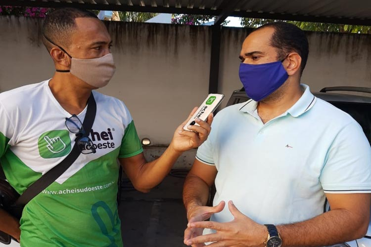 Coronavírus: Temos que redobrar nossos cuidados, apela secretário de saúde de Brumado