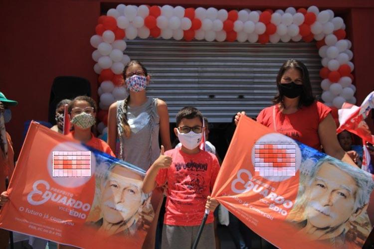 Eleições 2020: Eduardo Vasconcelos inaugura comitê em Brumado