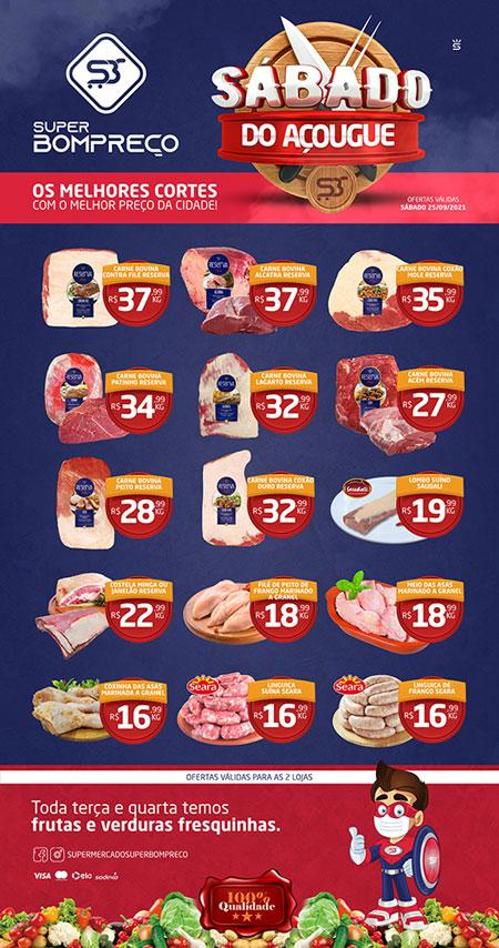 'Sábado do Açougue': Confira as promoções no Supermercado Super Bom Preço em Brumado