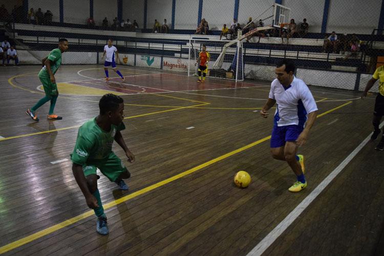 Vila aplica vitória arrasadora contra o Olhos D'água na segunda rodada do brumadense de futsal
