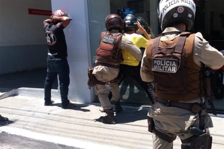 PM intensifica patrulhamento com motocicletas na cidade de Guanambi