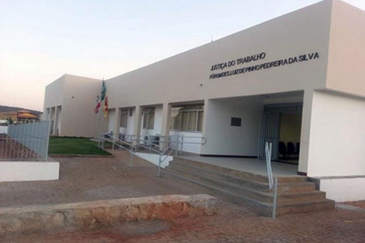 Brumado: Vara do Trabalho passará a contar com Juíza Auxiliar