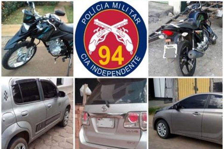 94ª CIPM apreende 18 veículos irregulares este mês em Caetité e região