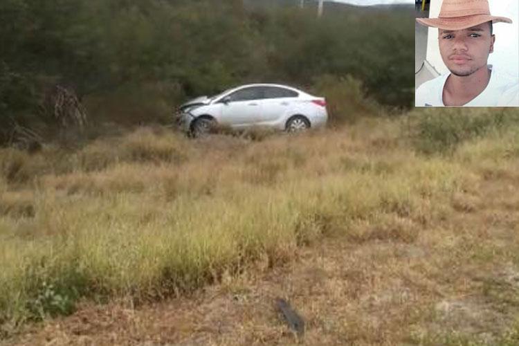 Brumado: Advogada fica ferida e jovem de 20 anos morre em acidente na BA-262