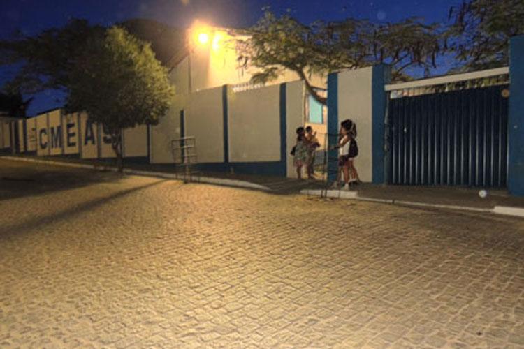 Aulas estão suspensas nesta terça-feira (20) no Cmeas em Brumado