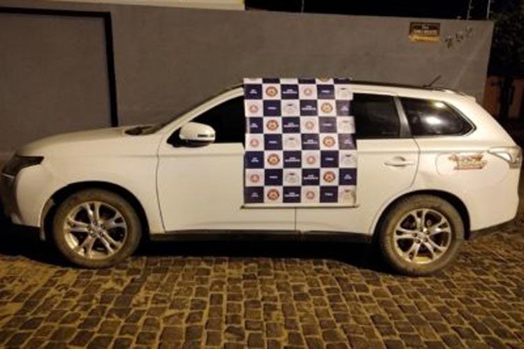 Contendas do Sincorá: Pré-candidato a vereador é flagrado com veículo com restrição de roubo
