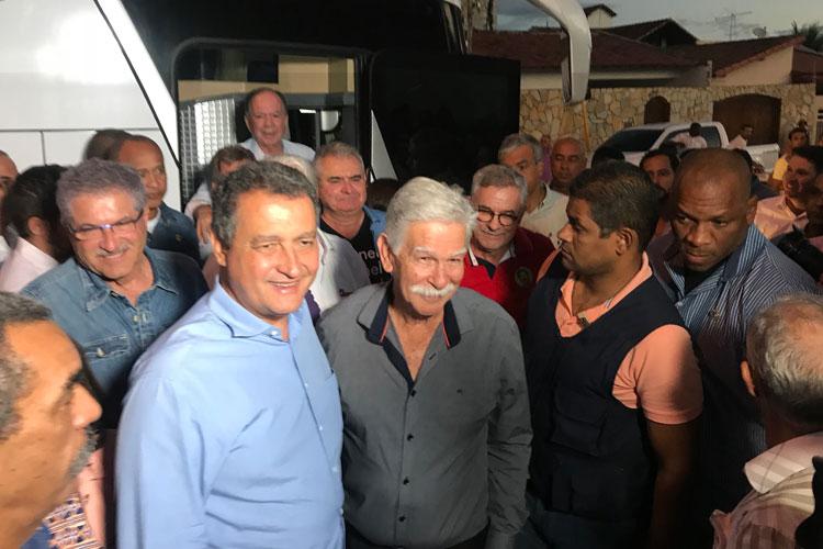 Brumado: Eduardo Vasconcelos recepciona Rui Costa, mas se esquiva de apoio nas eleições 2018