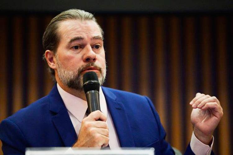 'Defesa do cidadão', diz Dias Toffoli sobre limitar uso de dados do Coaf