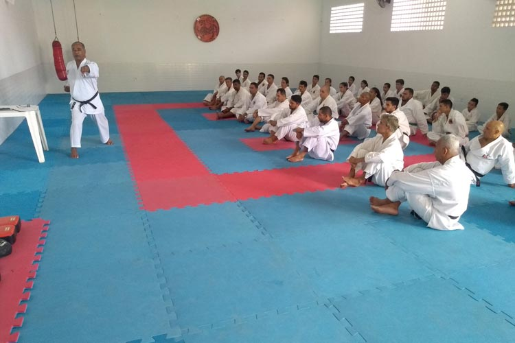 Brumado sediou IV Seminário de karatê da Bahia