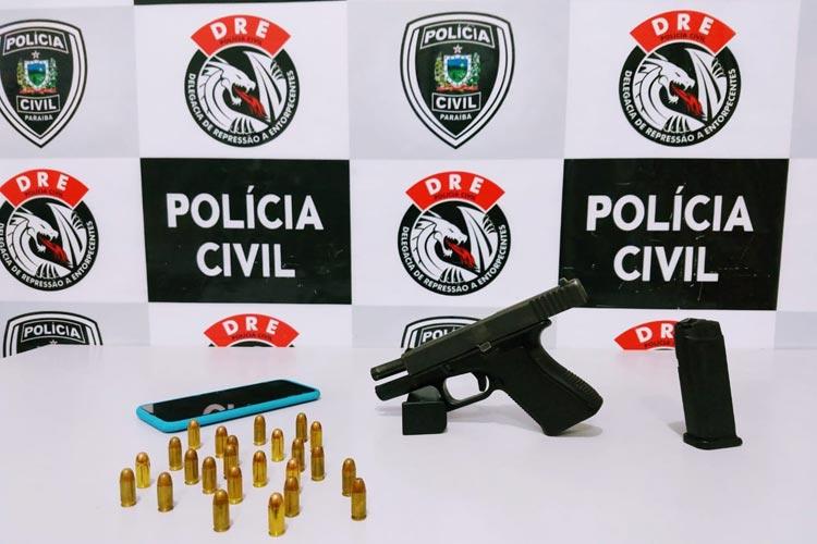 Suspeito de mandar matar pelo menos 10 na Bahia é preso, na Paraíba