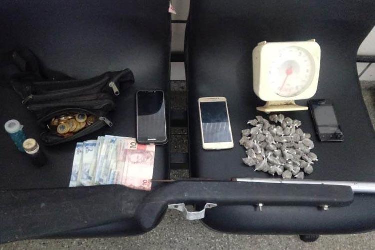 Sete suspeitos de tráfico de drogas são presos durante operação policial em Bom Jesus da Lapa