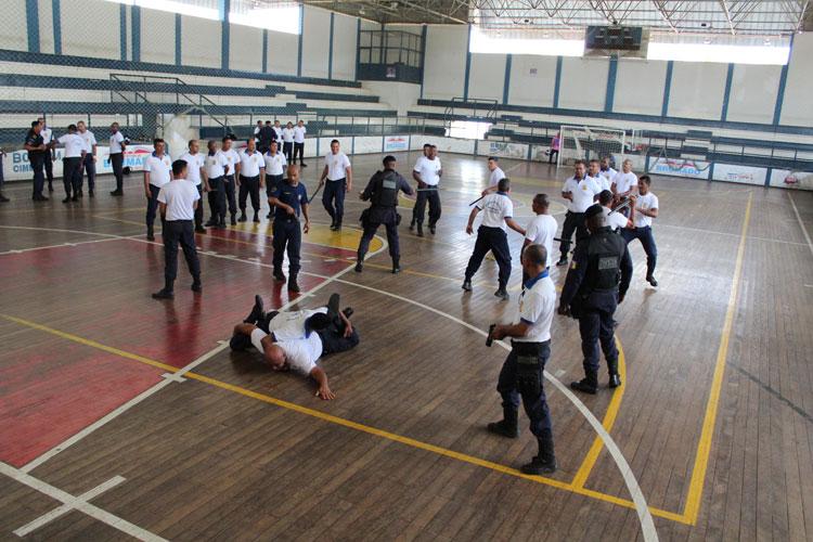 Guarda Civil de Brumado inicia capacitação para criação de grupamento especializado